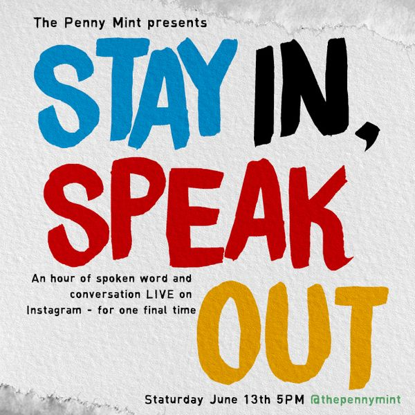Stay In, Speak Out on Instagram Live